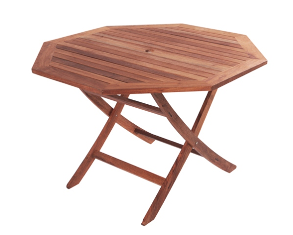 Table de Jardin Monkfin Hexagonale Pliante 110 cm \